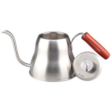 Hand Drip Pour Over Gooseneck Pot With Thermometer